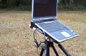 ESCRITORIO portátil de trípode de cámara vieja