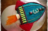 Torta del cohete (por parte de la historia del juguete)