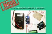 Alimentar algo que requiere un voltaje mayor que la batería puede suministrar: el 2016 SUPER NOOB FRIENDLY manera