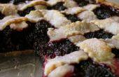 BlackBerry zarzamora pastel receta para veganos