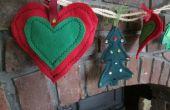 Guirnalda de Navidad DIY