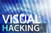 Concepto de hacking visual