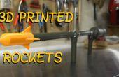 Hacer su propio cañón de cohete - disparar 3D impreso cohetes más de 100 pies.