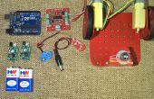 Obstáculo evita el Robot usando Arduino Uno y Sensor de proximidad de infrarrojos