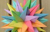 Cómo hacer bolas de flores de papel