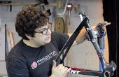 Reparación de bicicletas de fibra de carbono