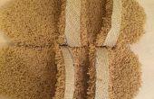 Sandalias de la alfombra