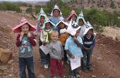 Caza del tesoro para niños de jardín de niños