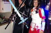 Cómo crear espadas Sword Art Online.