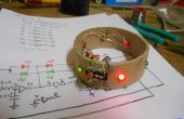 Pulsera LED con CD4049