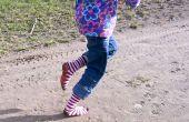 Corriendo descalzos Plasti-medias