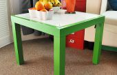 Estructura DIY Lightbox con mesa Ikea falta.