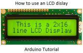 Cómo hacer una pantalla de LCD - Arduino Tutorial