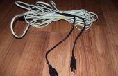 Extender Cable conector USB Cables utilizando teléfono