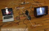 ¿Conectar una laptop a una antigua escuela RF TV