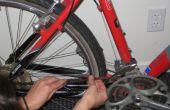 Quitar moho de una bicicleta con jugo de Lima