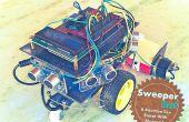 Robot casero de limpieza con Bluetooth