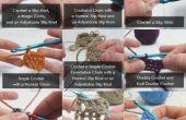 Ganchillo básico - cómo Crochet puntadas y técnicas comunes