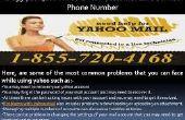 Centro de ayuda para el correo electrónico de Yahoo emite estos días el número de asistencia de contacto