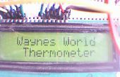 Arduino LCD termómetro con LM35 Sensor de temperatura
