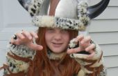 FÁCIL disfraz de vikingo: Ninguna costura implicados