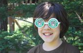 Hacer gafas de tazas de café de papel