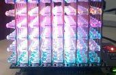 Cubo de LED RGB de uso 8 x 8 x 8 en pcDuino