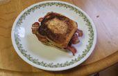 Sándwich de desayuno de nido de pájaro (nuevo giro en un viejo favorito)