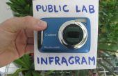 Convertir una cámara Canon en una planta salud analizador DIY Infragram del laboratorio público