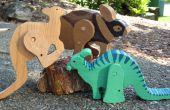 Diseño Animal de la lupulización y libro cómico carácter juguetes