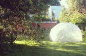 Efecto invernadero - cúpula geodésica