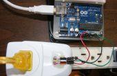 Simplificado de medición de corriente CA Arduino usando el Sensor de efecto Hall ACS712
