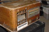 1940 radio caja de la computadora