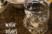 Cómo lavar los platos (con muy poca agua!)
