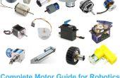 Guía completa de Motor para la robótica