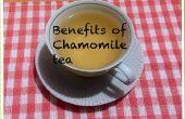 Beneficios de té de manzanilla