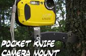 Montaje de cámara de cuchillo de bolsillo
