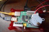 Controlando un motor paso a paso con el Raspberry Pi y Piface
