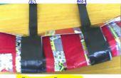 Cómo hacer una bolsa de bici cinta de conducto
