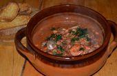 ♨ BOUILLABAISSE (sopa de pescado de Francia meridional) ♨