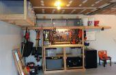 Garage Storage/Banco de trabajo