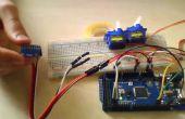 Servo Control por Bluetooth con acelerómetro