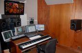 Construir un estudio de música en un edificio de apartamentos