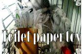 Juguete Ave de rollo de papel higiénico