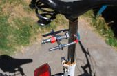 No soldar bicicleta remolque enganche