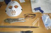 Cómo hacer y airsoft mask barato y fácil