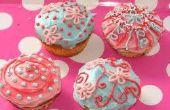Cupcake de vainilla húmedo