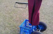 Silla de montar Rack carro del balanceo