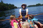 ¿Cómo remar una canoa para pescar o ejercicio, barato, barco de fila rápida