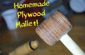 Hacer su propio mazo de madera! | Herramientas de bricolaje para madera #1
